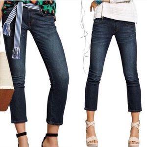 CABI size 12 New Crop Capri Jeans Style 5086